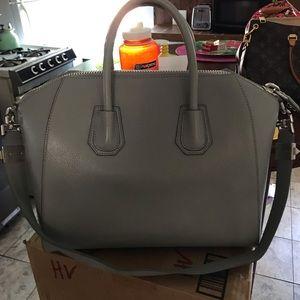 Givenchy Bags - Givenchy antigona pearl grey